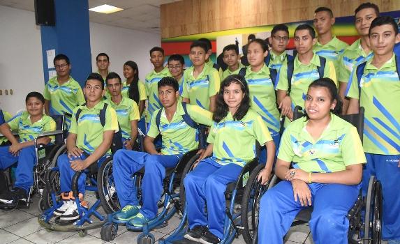 INDES recibe a delegación que participó en juegos panamericanos juveniles