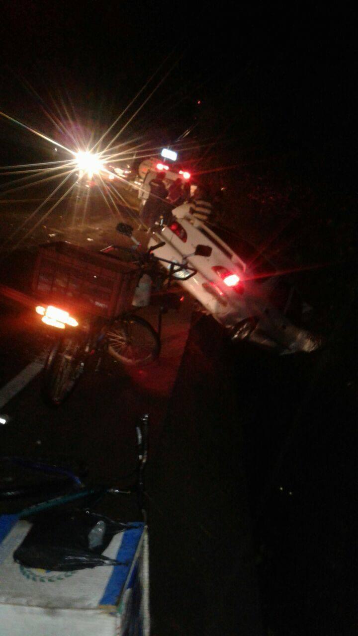 Accidentes viales a la orden del día, en Santa Ana