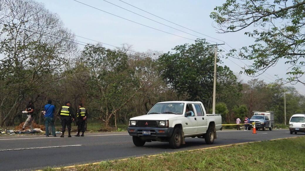 Encuentran cadáver en carretera Panamericana