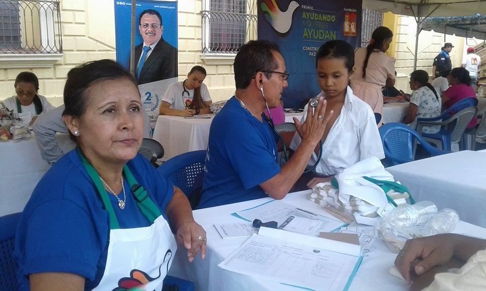 "Realizan festival ""Por La Paz"" en Santa Ana"