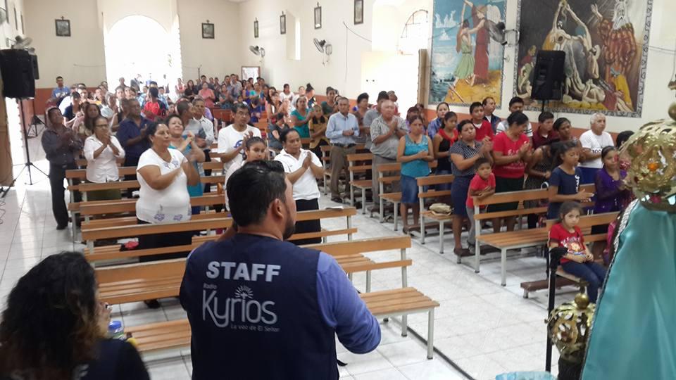 Radio Kyrios realiza la primera radiotón en el marco de su octavo aniversario