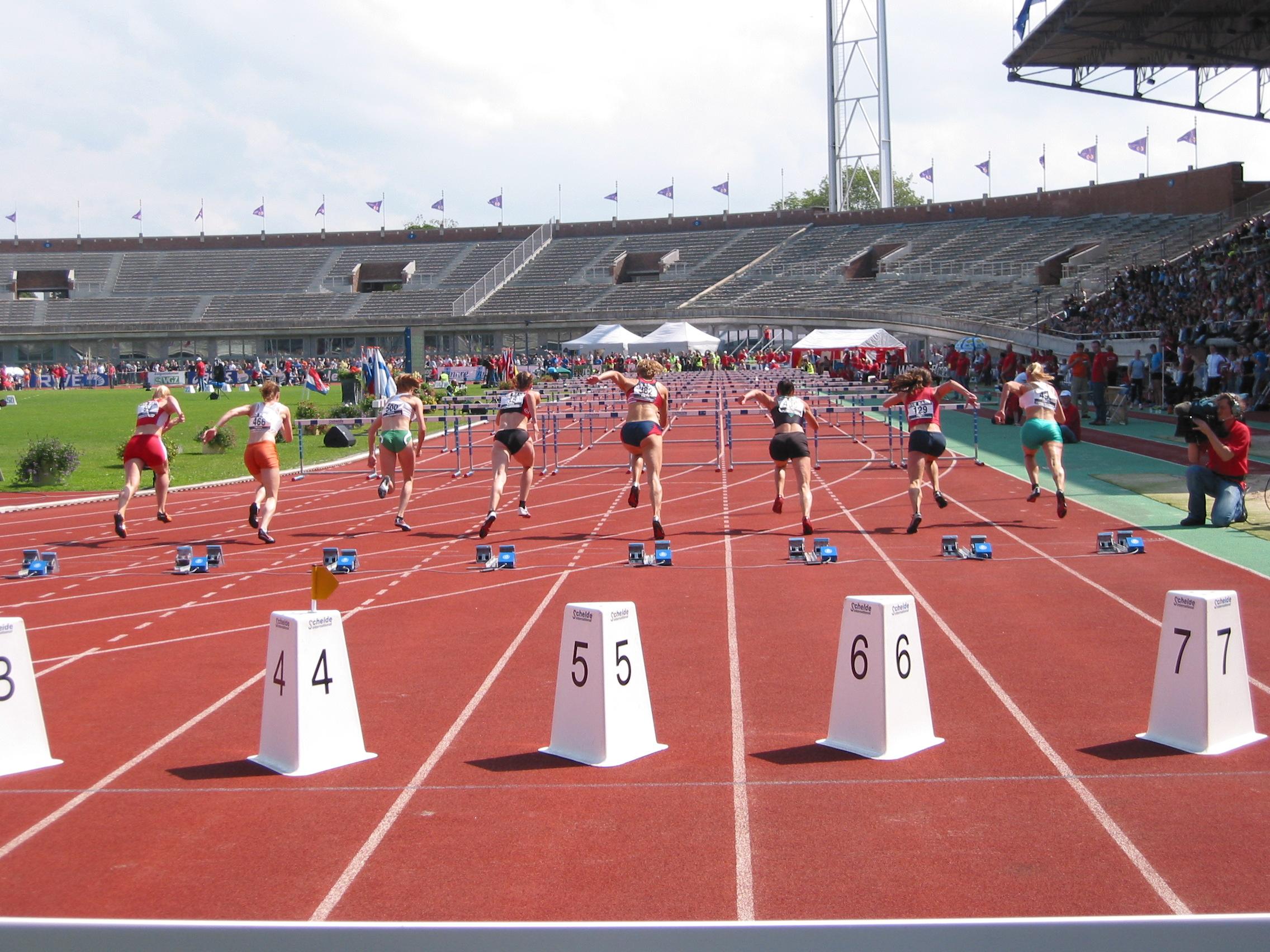 Tres nuevos récords en el Atletismo