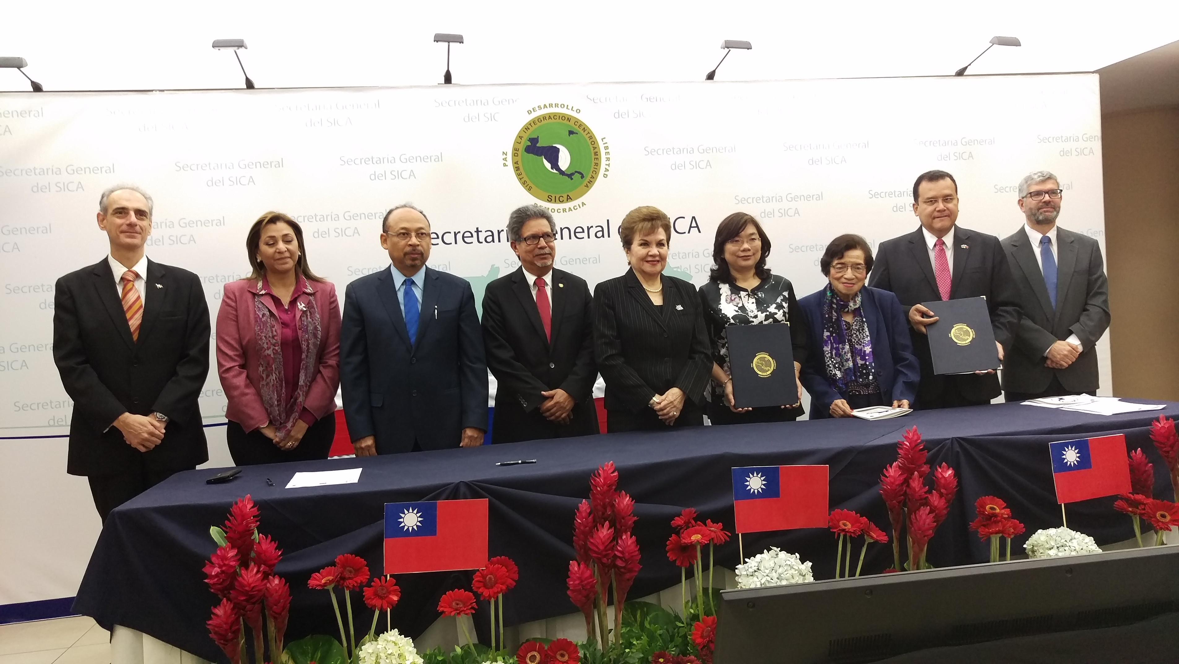 Taiwán realiza donación de fondo para fortalecimiento de programas de salud del SICA