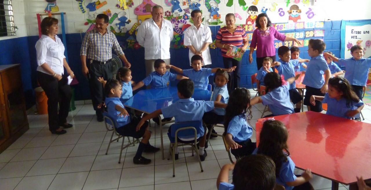 Japón mejoró instalaciones de Escuela de Educación Parvularia de Sonzacate