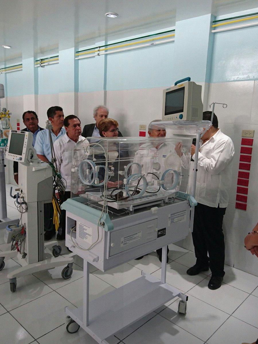"""Inauguran Unidad de Cuidados Intensivos Neonatales """"Jürg Weis"""""""