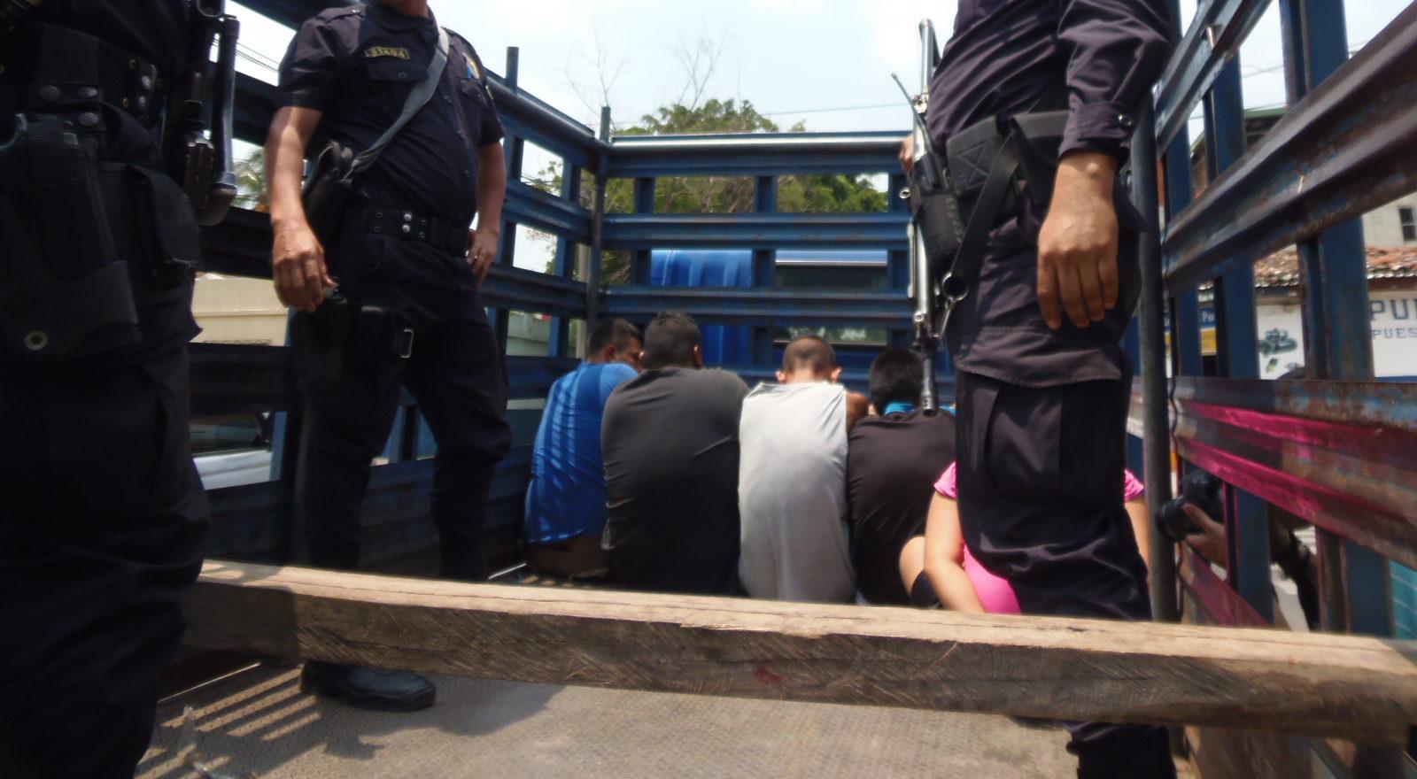 Arrestan a miembros de estructuras delincuenciales