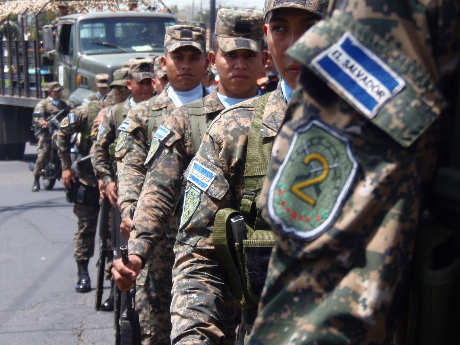 7 de mayo, día del soldado salvadoreño