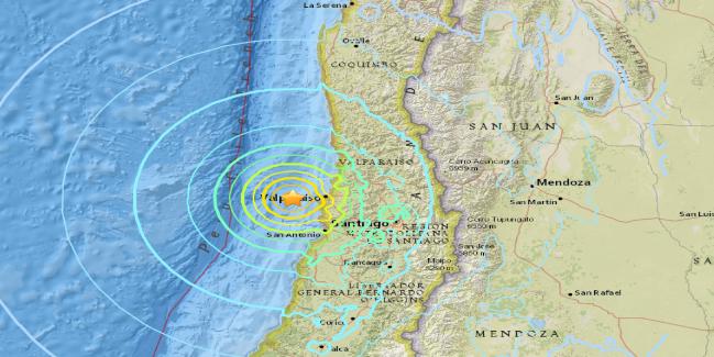 """Científicos franceses aseguran que el próximo """"terremoto del siglo"""" será en Valparaíso"""