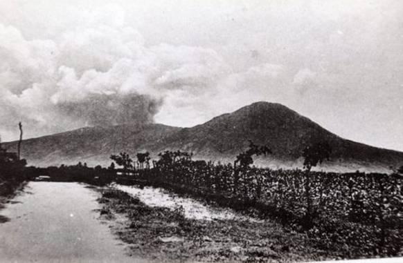 Erupción Volcán de San Salvador 1917