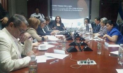 COMIG conoce acciones tomadas por el RNPN sobre cambios de estado familiar en el DUI