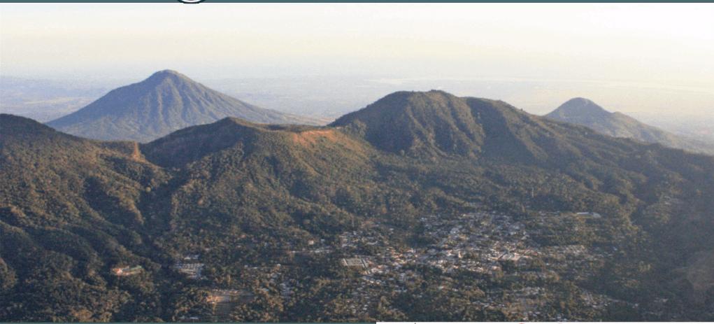 Estable comportamiento de los principales volcanes activos de El Salvador durante agosto de 2018