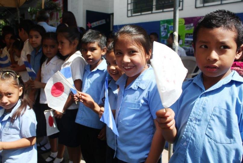 Japón realizó mejoras en escuela rural de Izalco