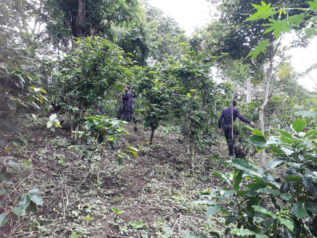 Encuentran cadáver en finca de Nahuizalco.