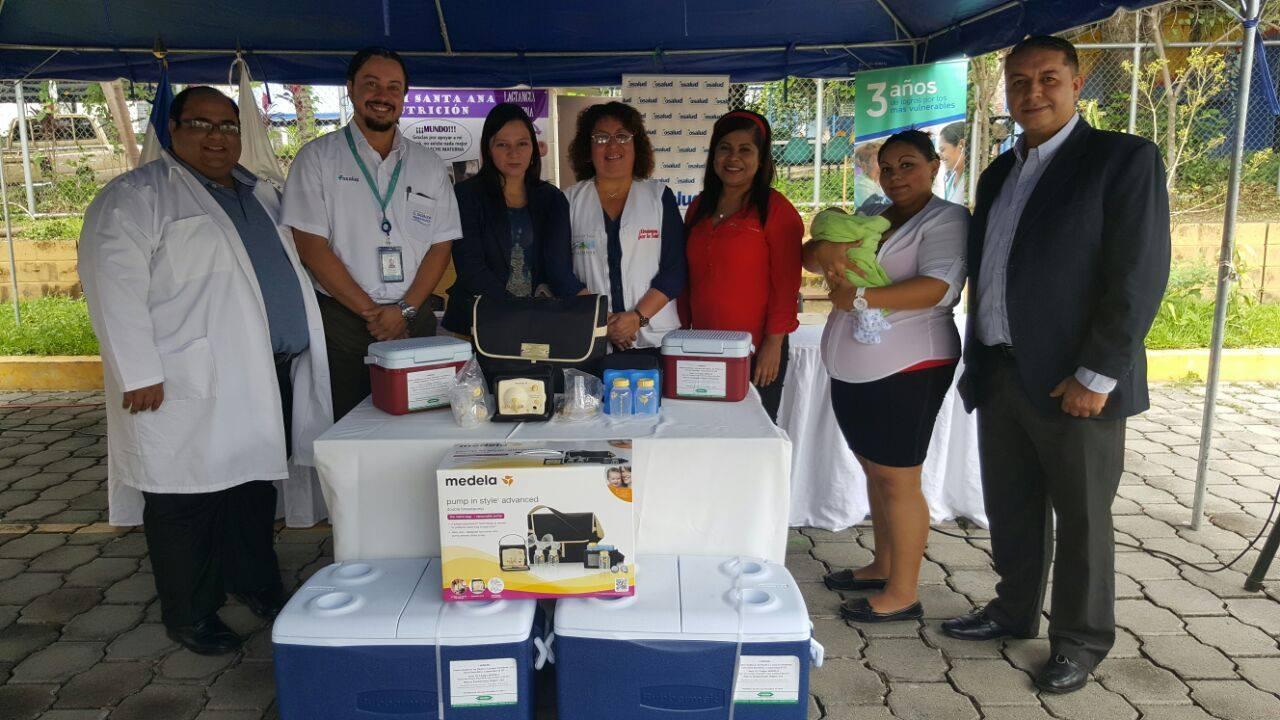 Inauguran nuevo centro recolector de leche humana