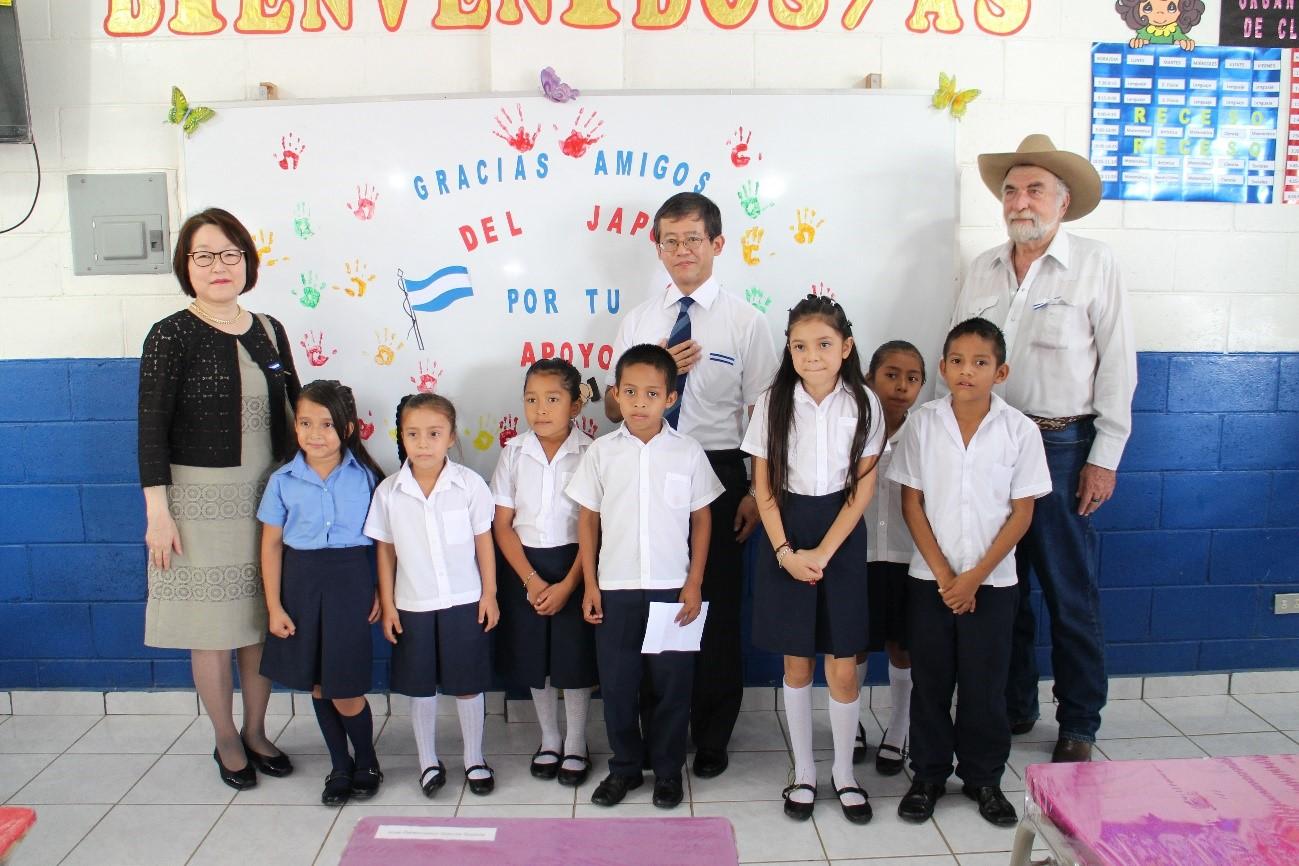 Mejor Infraestructura para los alumnos del  Centro Escolar Cantón La Paz