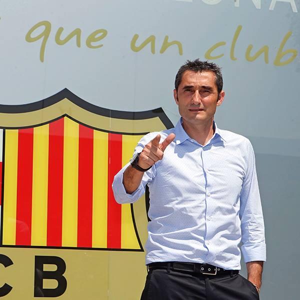 Ernesto Valverde nuevo técnico del FC Barcelona