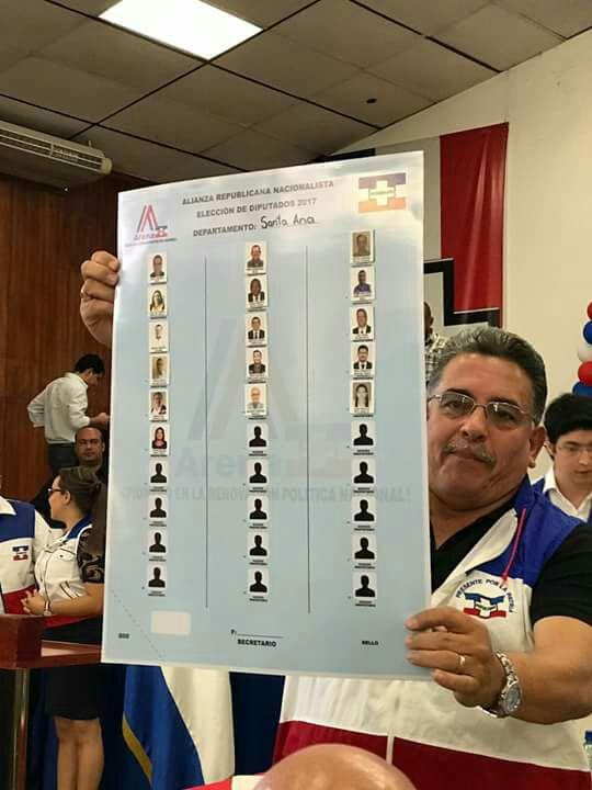 ARENA SORTEA POSICIONES PARA LAS ELECCIONES INTERNAS