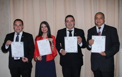 Juramentan a miembros de la Comisión de Ética Gubernamental de la Asamblea Legislativa