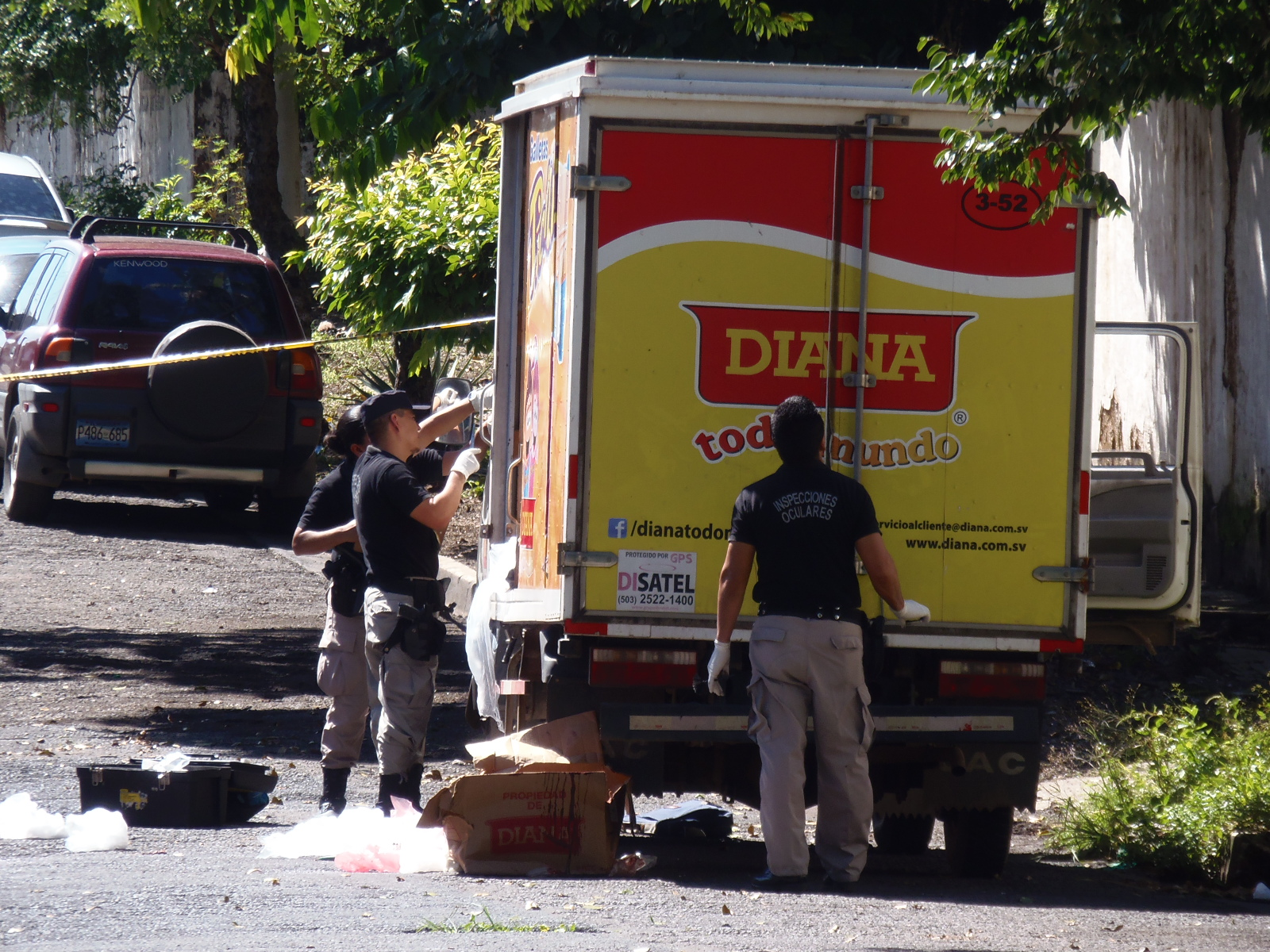 Asesinan a dos vendedores de boquitas en Santa Ana