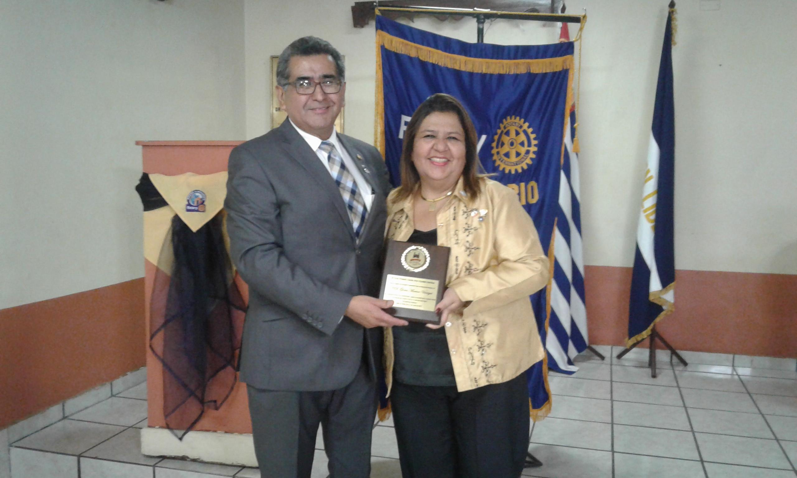 Club Rotario Santa Ana Ciudad Heroica cuenta con nueva directiva
