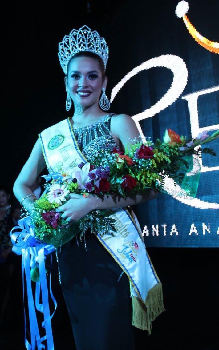 Santa Ana ya tiene nueva reina de las fiestas Julianas 2017