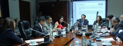 Comisión Financiera analiza propuesta para evitar embargos a caficultores