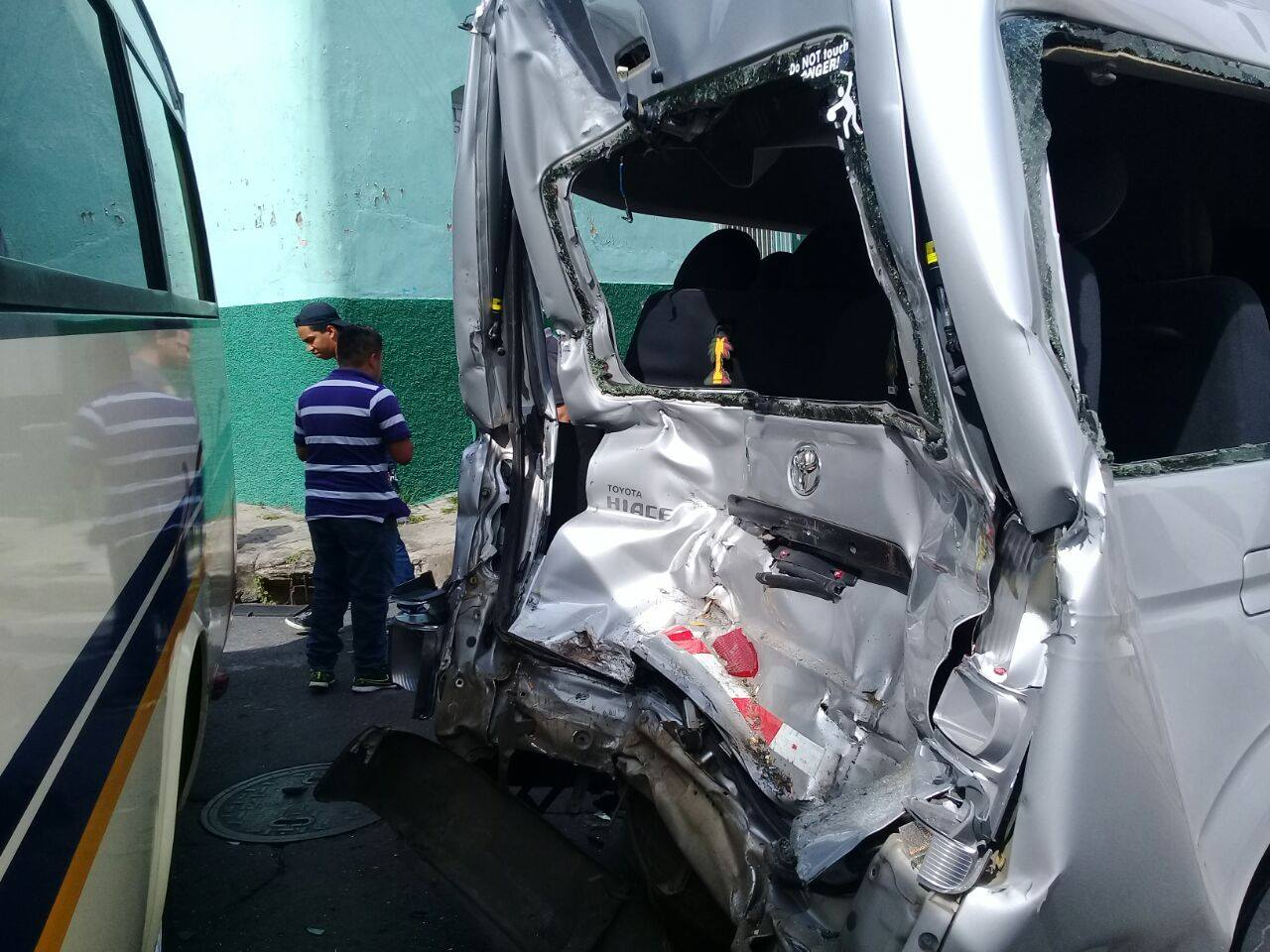 Cruz Roja atiende accidente de tránsito