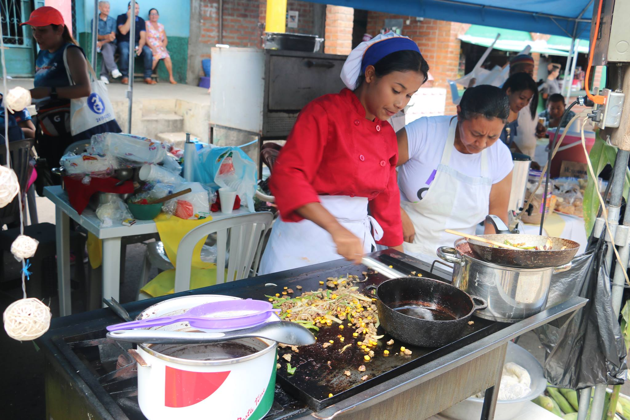 El festival del maíz  en Atiquizaya estuvo lleno de sabor