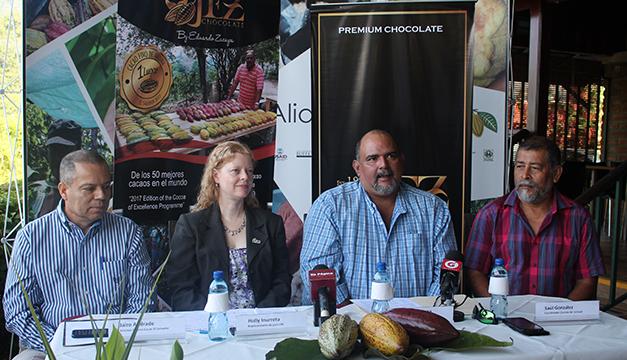El Salvador llega por primera vez al Salón de Chocolate en Francia