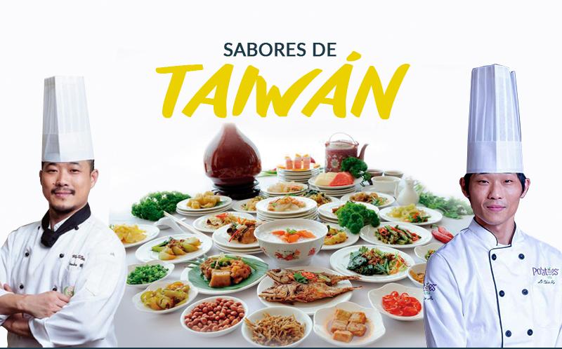 Chefs muestran la cultura culinaria de Taiwan