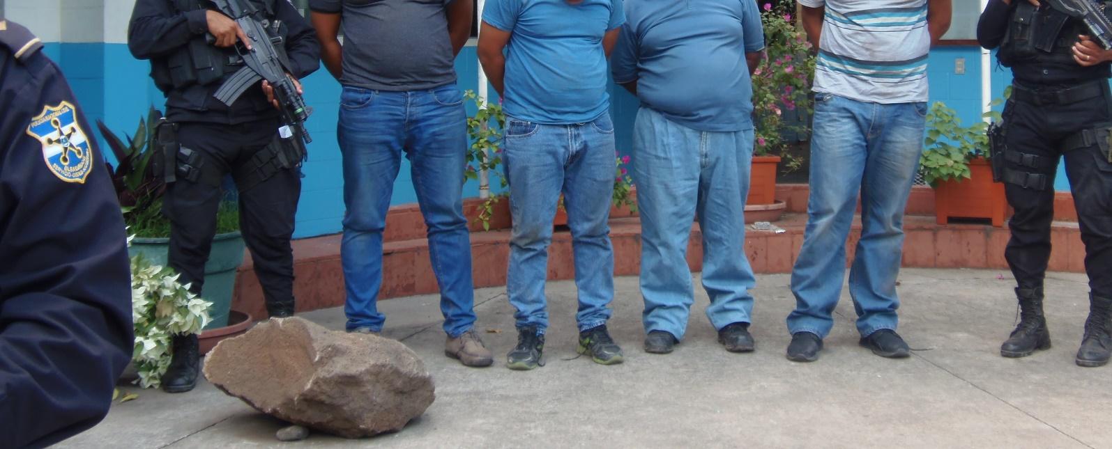 Policía arresta a homicidas en Metapán