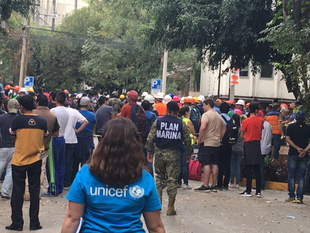 UNICEF envia ayuda a niños en Mexico