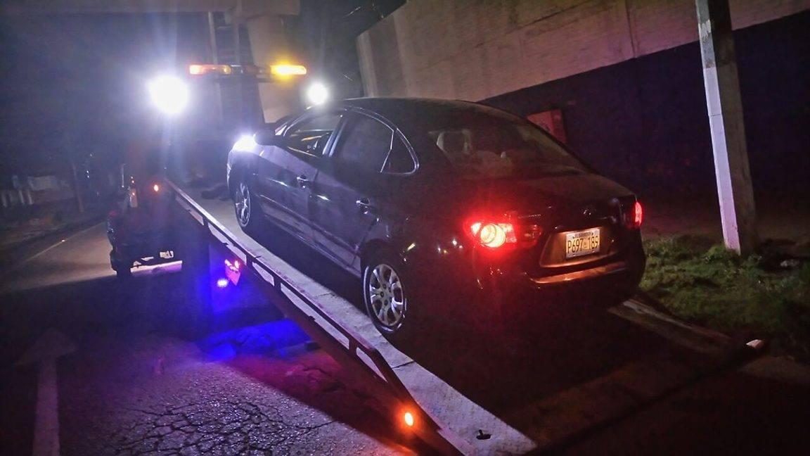 Detienen a conductores en estado de ebriedad durante control vehicular