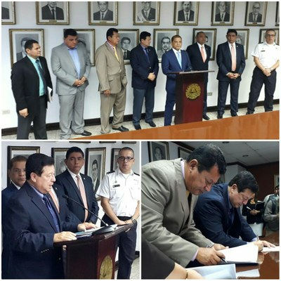 Comisión de Seguridad Pública analiza propuestas para fortalecer la seguridad de los ciudadanos y elementos de la PNC, FAES, FGR