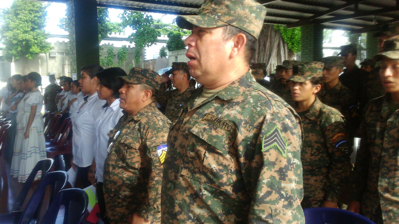 Segunda Brigada de Infantería se une a la celebración del mes cívico