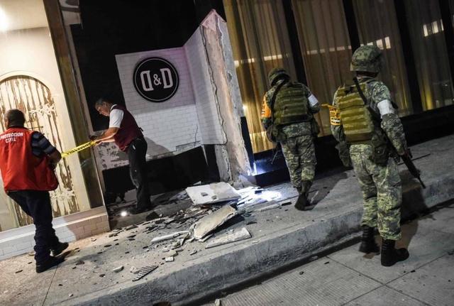 El terremoto en el sur de México