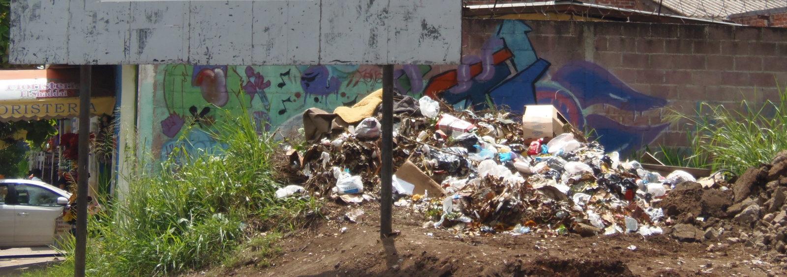 Santanecos preocupados por el problema de la basura