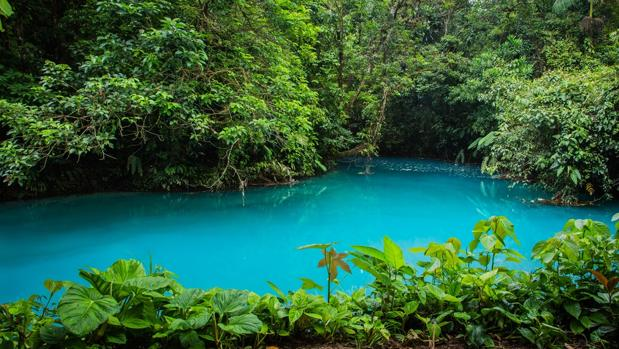 El secreto del río Celeste de Costa Rica