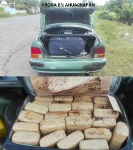 FGR logra que jueces envíen a prisión a traficantes de drogas en Ahuachapán y San Salvador