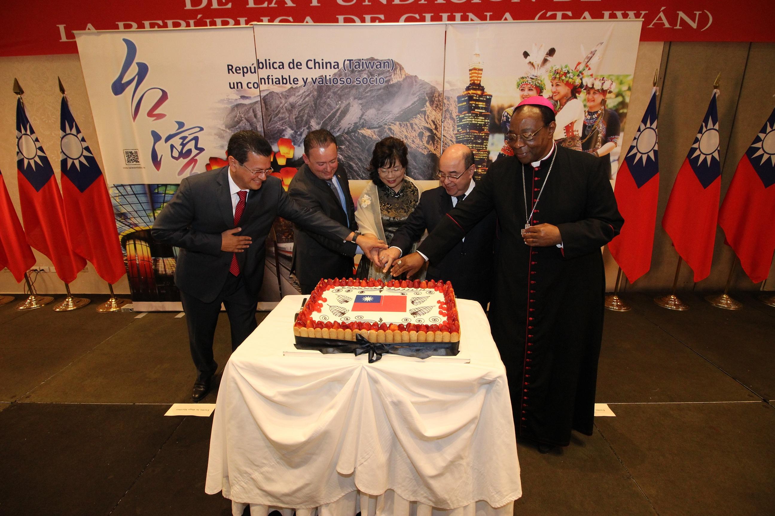 La Embajada de la República de China (Taiwán) celebró su Día Nacional el 10 de octubre