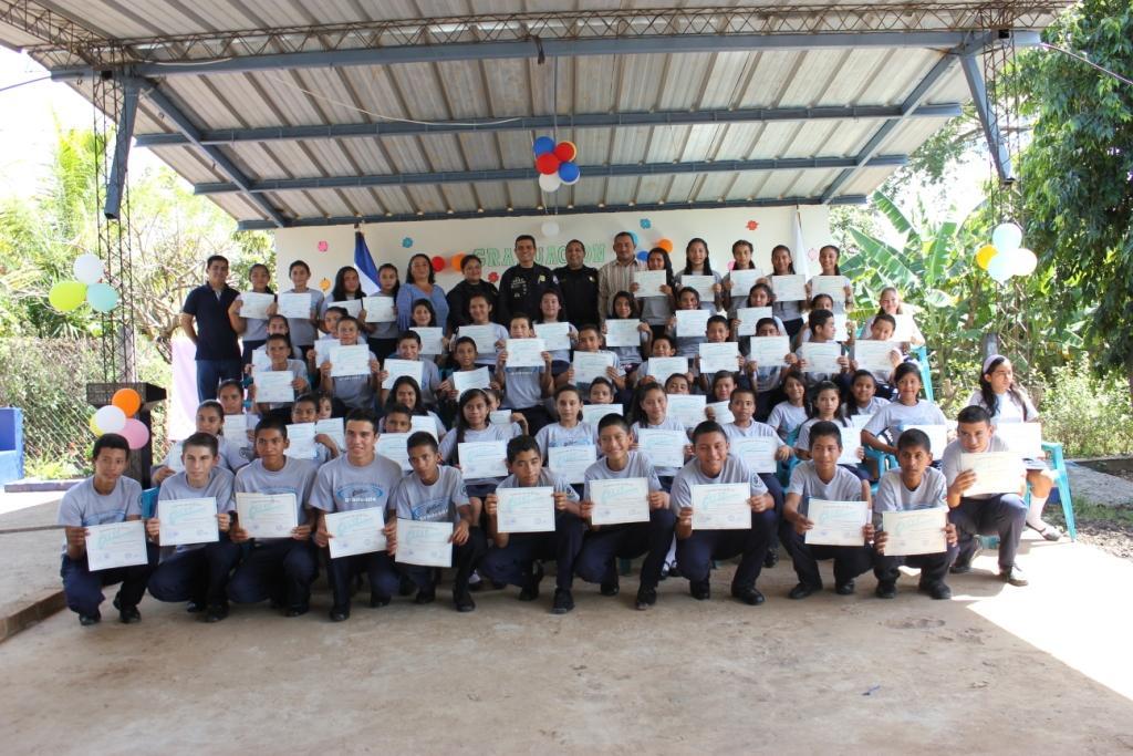 600 estudiantes fueron beneficiados con el programa GREAT