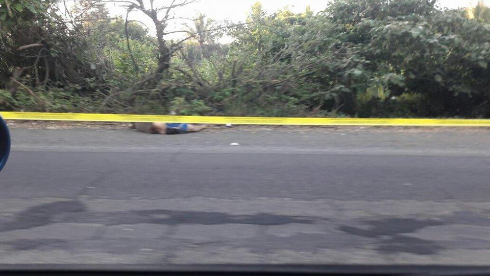 Un cadáver fue encontrado en la carretera a Chalchuapa