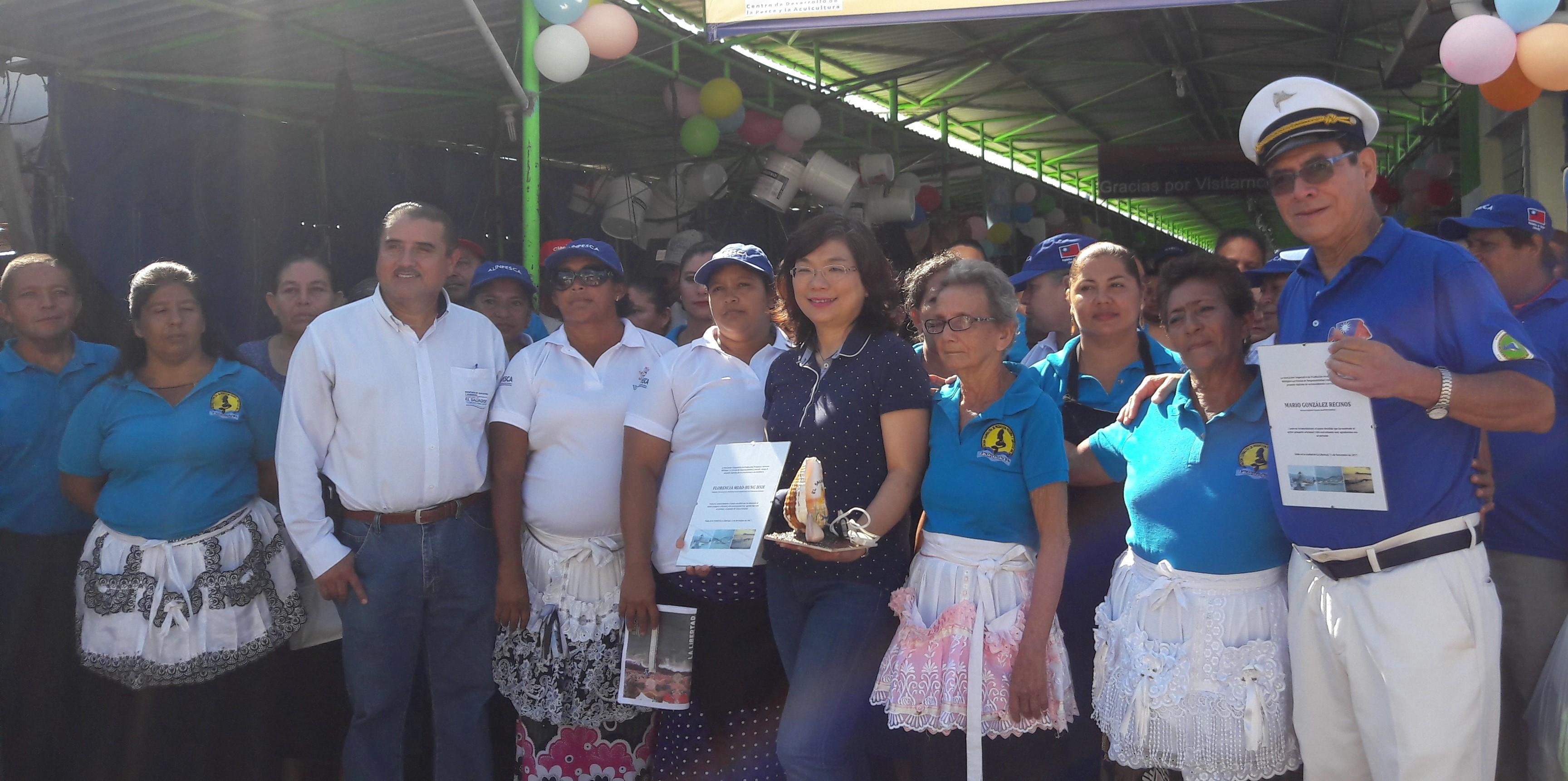 Taiwán apoya a las mujeres comerciantes del Puerto de La Libertad