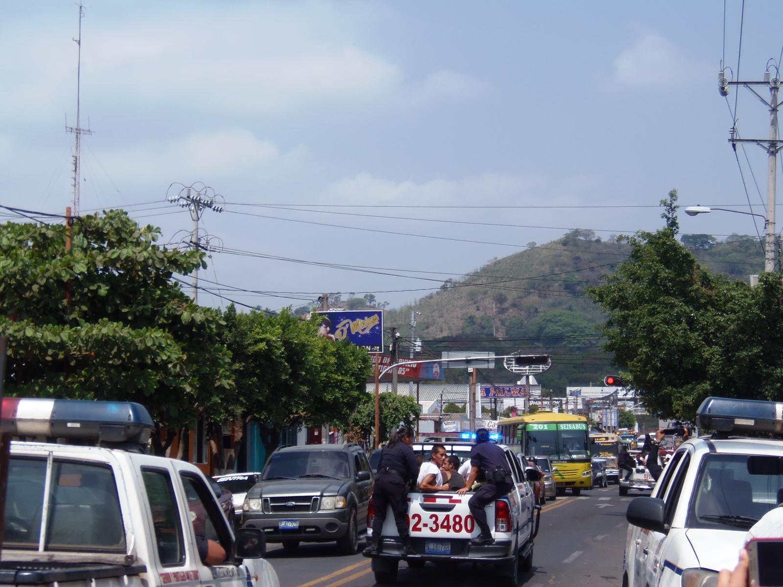 Autoridades de seguridad buscan combatir la delincuencia en El Salvador