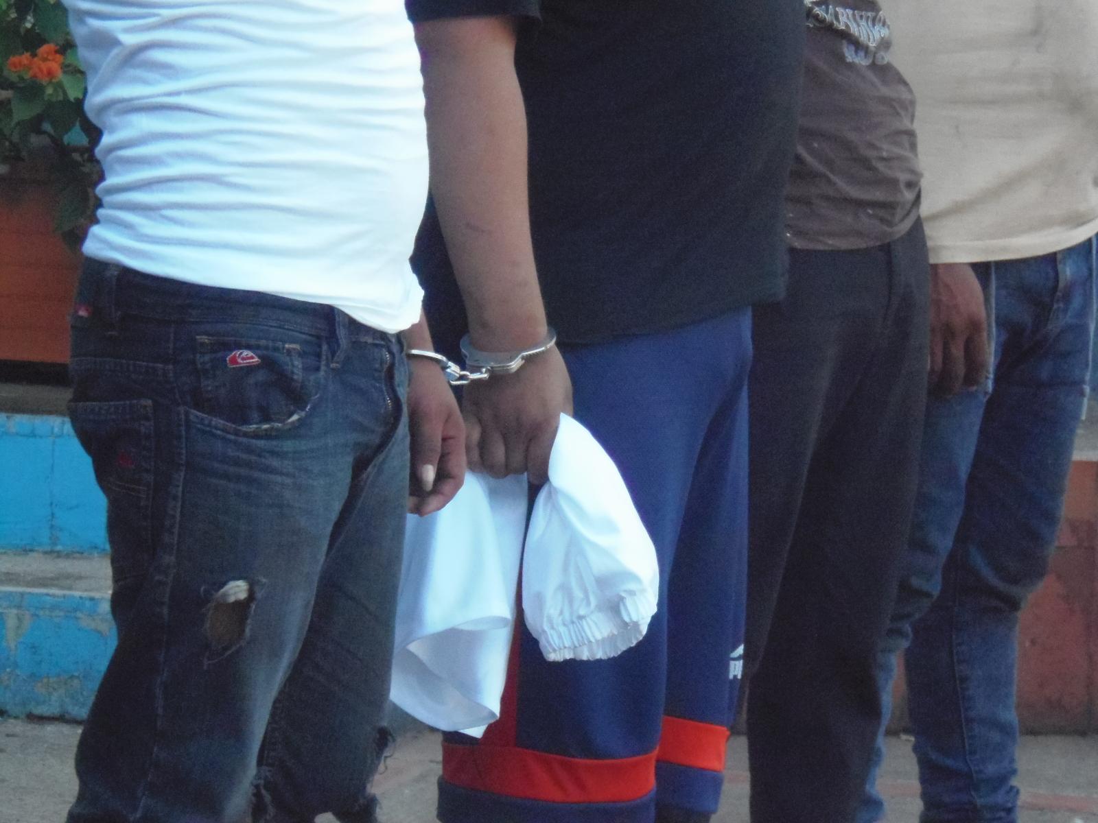 PNC captura a sujetos por diferentes delitos