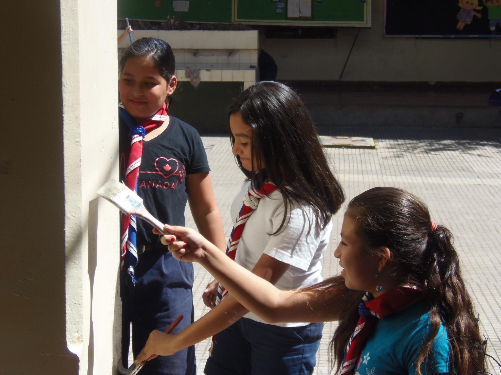 Centro Escolar Napoleón Ríos de Santa Ana se benefició con el proyecto Life Spark