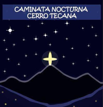 Un Pulmón Más organiza la caminata nocturna al cerro Tecana