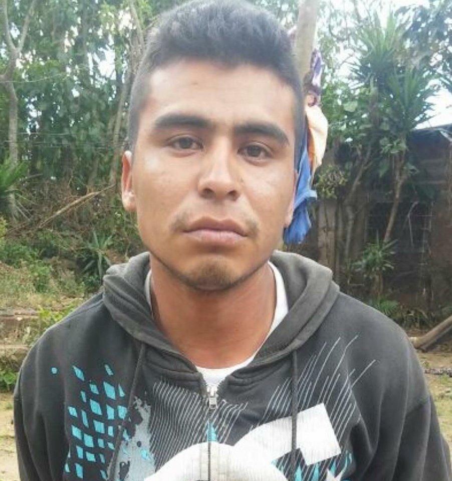 Miembro de pandilla es arrestado cuando portaba escopeta en un saco
