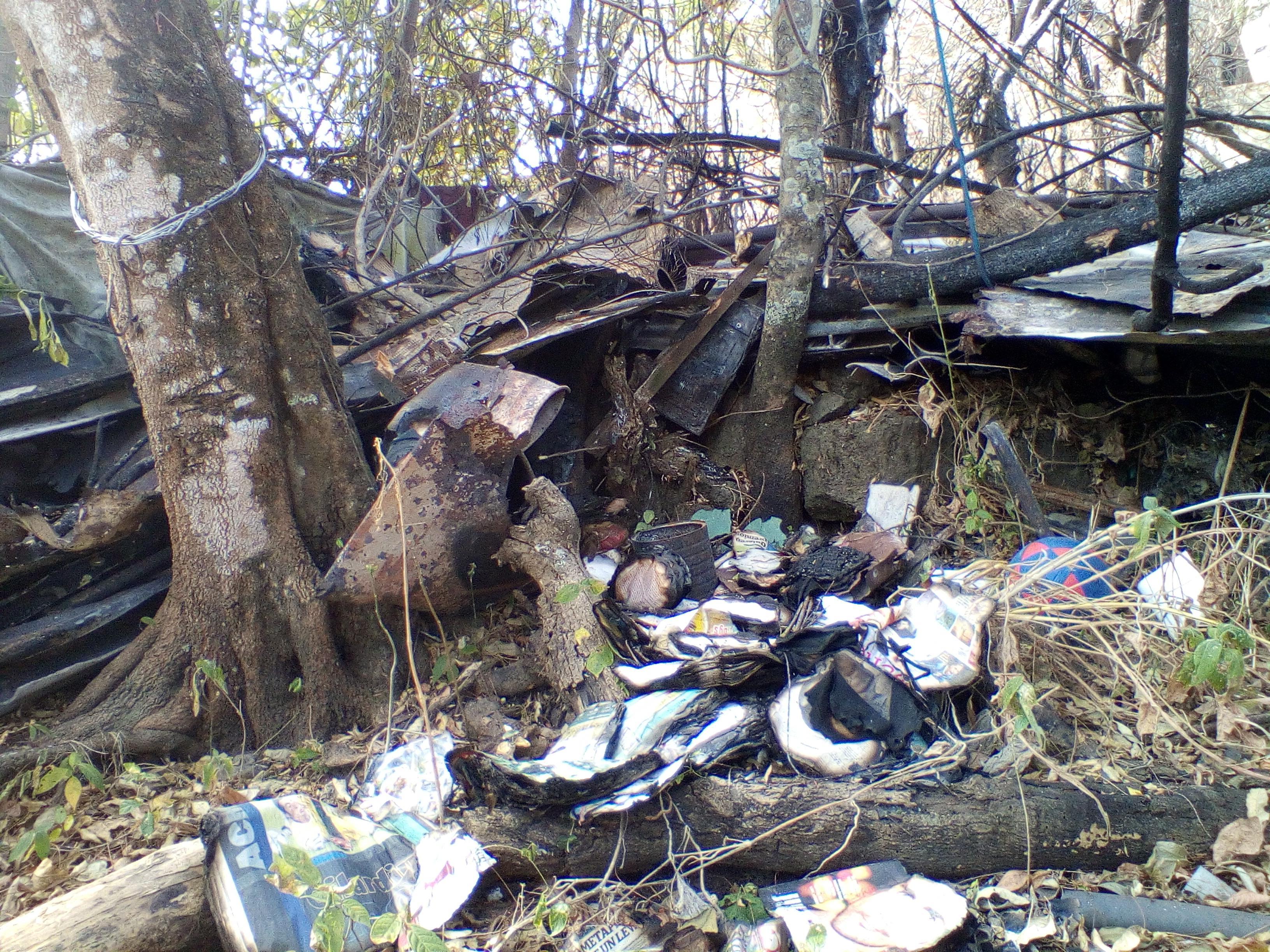 Familia santaneca que perdió todo en incendio necesita ayuda
