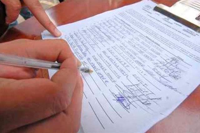 Tribunal deberá revisar inscripción de candidatos no partidarios sin considerar repetición de firmas de respaldo